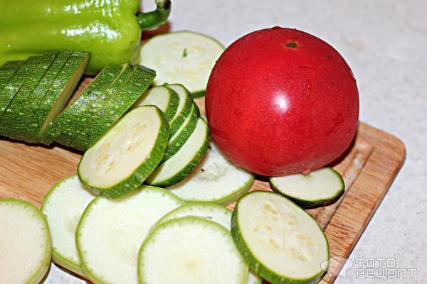 Легкая овощная запеканка фото