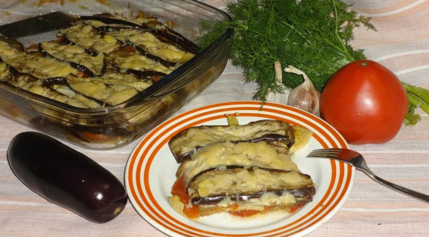 Готовим овощную запеканку с кабачками и баклажанами