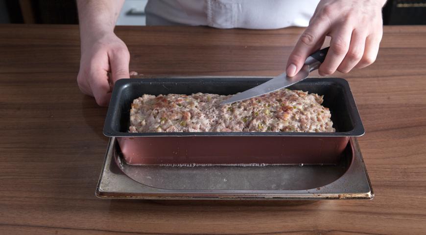 Паштет из свинины, проверьте готовность паштета