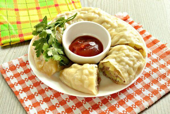 ханум рецепт с фаршем и картофелем